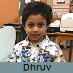 A photo of Dhruv.